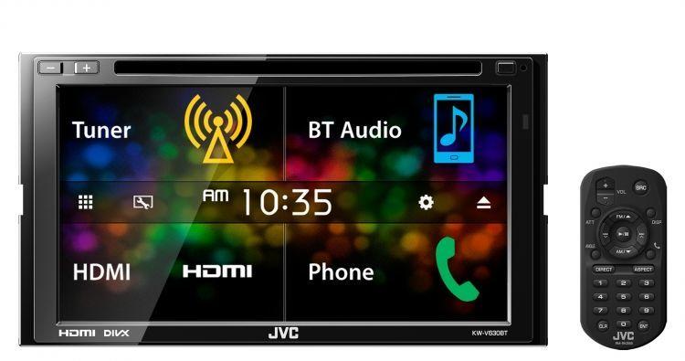 پخش تصویری جی وی سی JVC KW-V630BTM