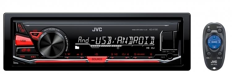 پخش جی وی سی JVC KD-X130