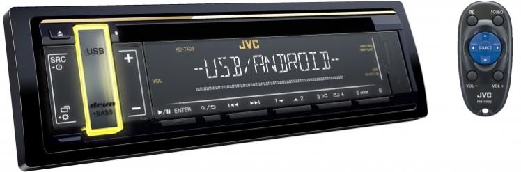 پخش جی وی سی JVC KD-T408