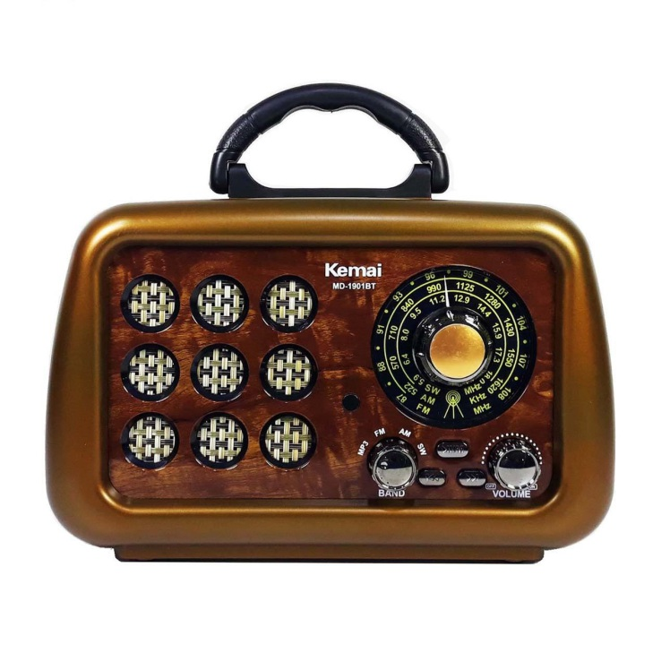 رادیو کمایی kemai md-1901bt