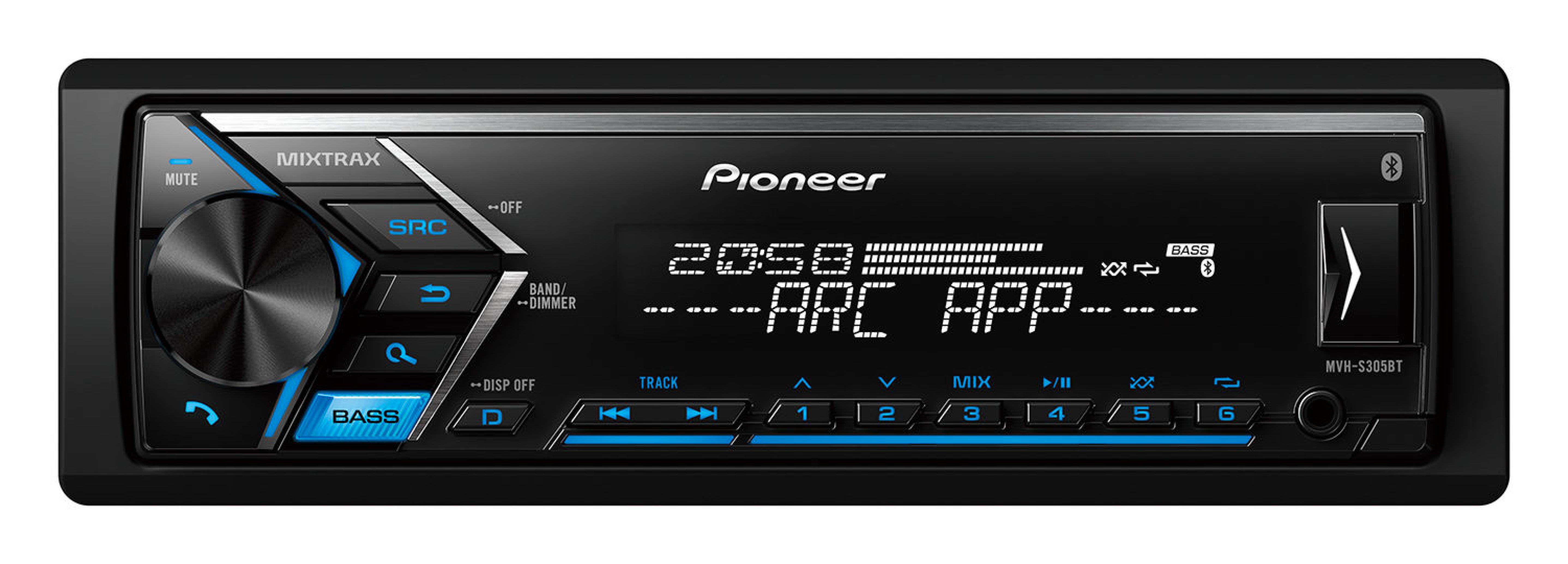 پخش کننده خودرو پایونیر مدل MVH-S305BT | Pioneer MVH-S305BT Car Audio