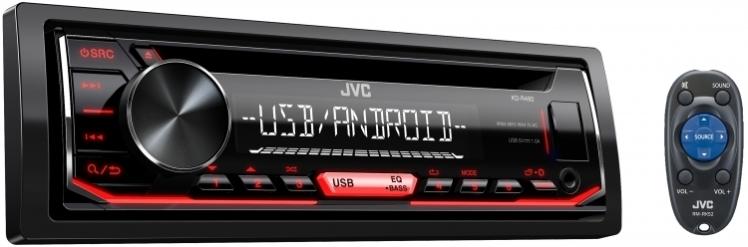 پخش جی وی سی JVC KD-R492