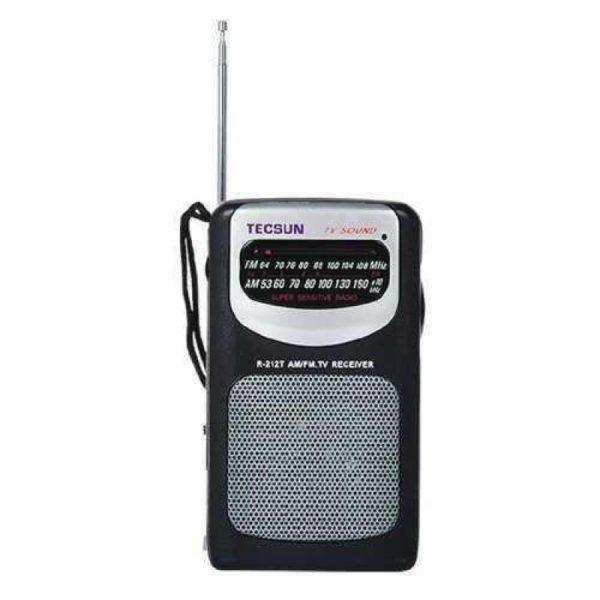 دارای 2موج AM وFM با گیرندگی خیلی خوب | رادیو TECSUN مدل R-212T