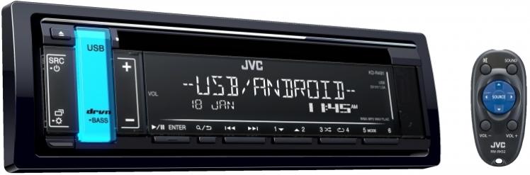 پخش جی وی سی JVC KD-R491