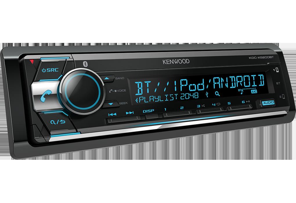 پخش کنوود Kenwood KDC-X5200BT